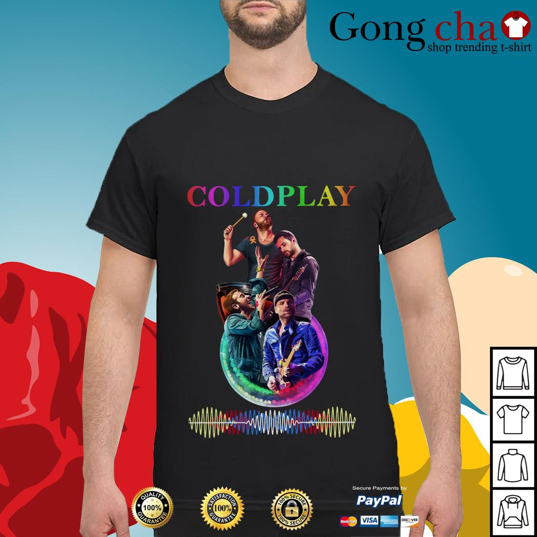 Official Coldplay poster shirt