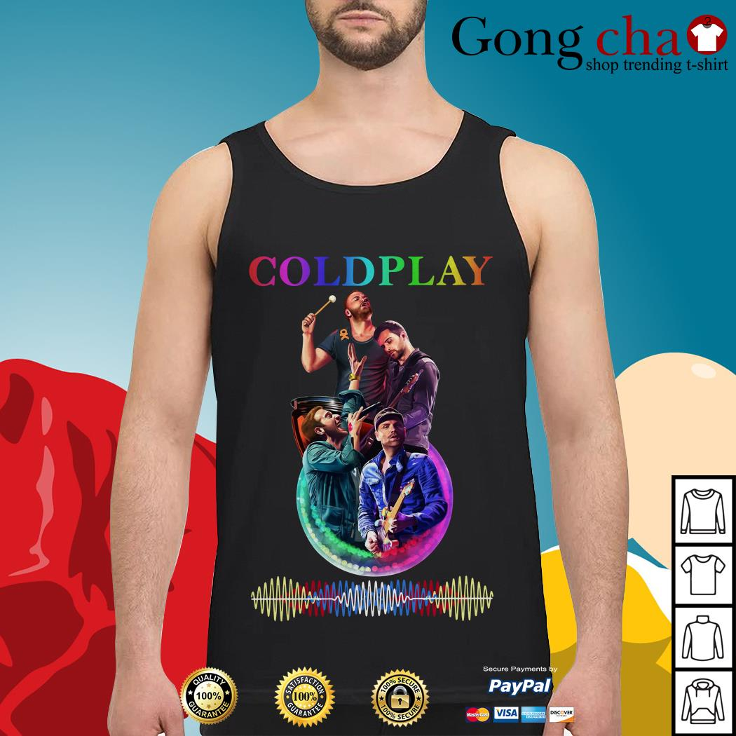 Official Coldplay poster Tank top