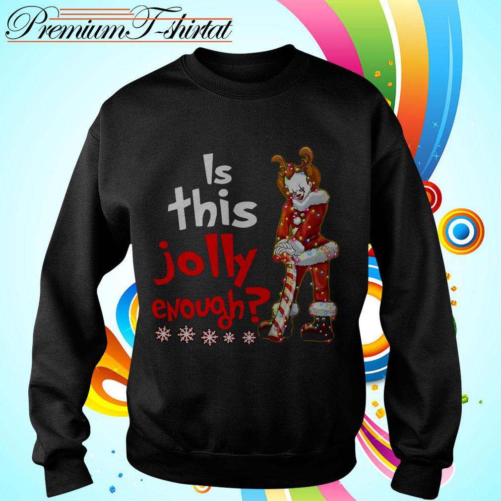 Pennywise is this jolly enough Christmas shirt
