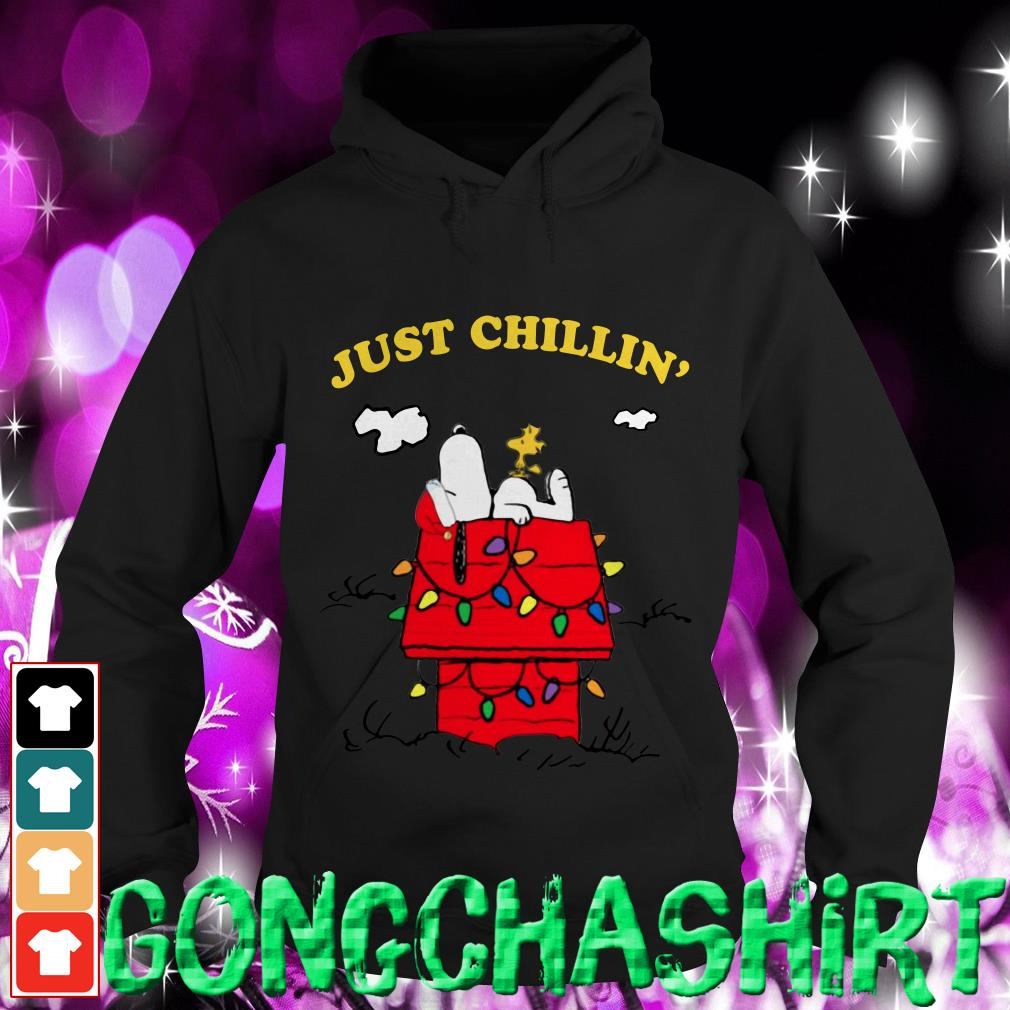 Snoopy just chillin' Christmas shirt, sweater