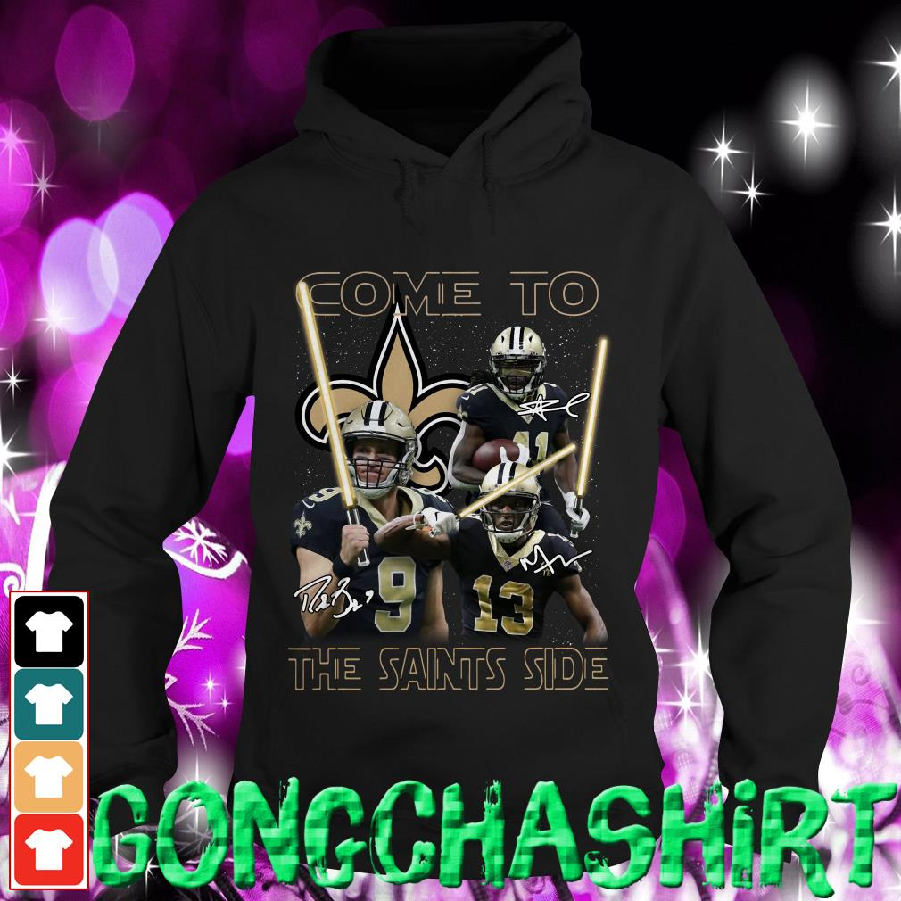Star Wars come to the Saints side Hoodie