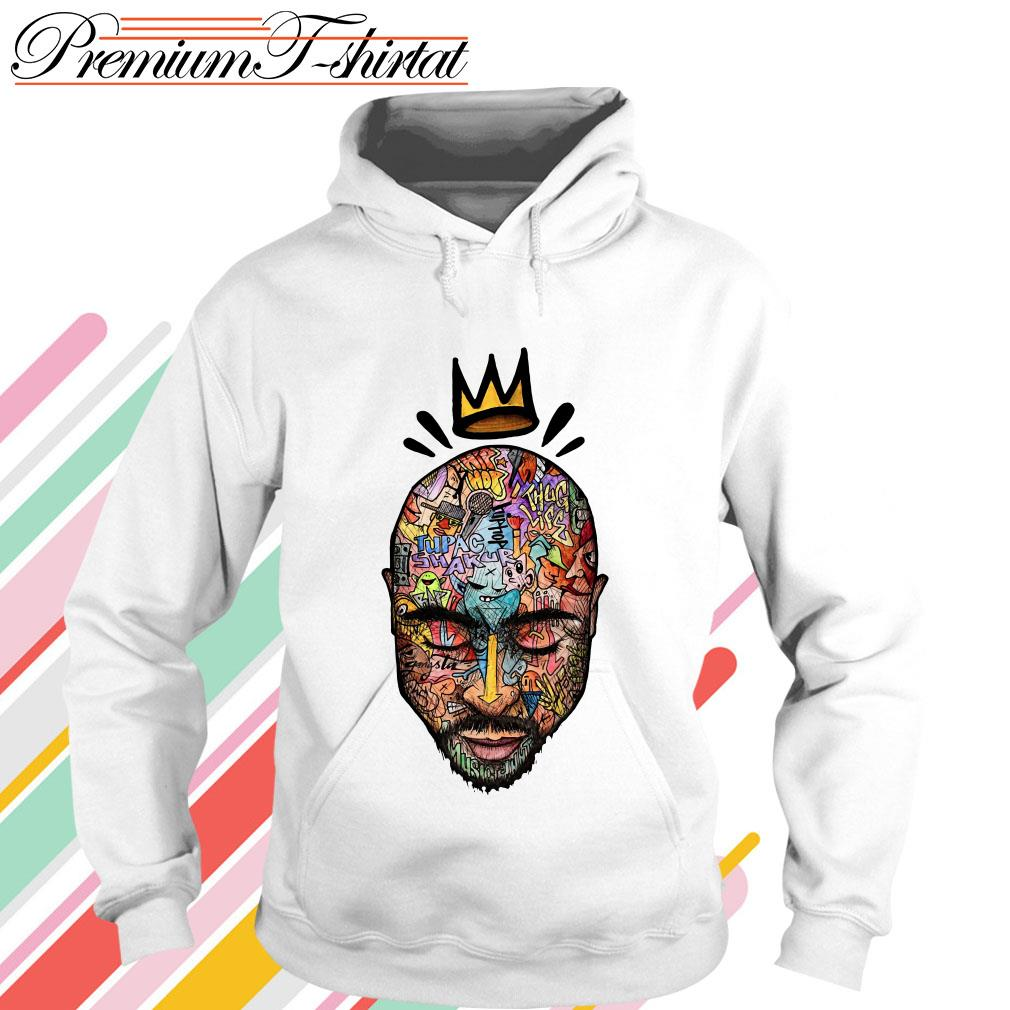 Tupac trippy art shirt, sweater, hoodie and tank top