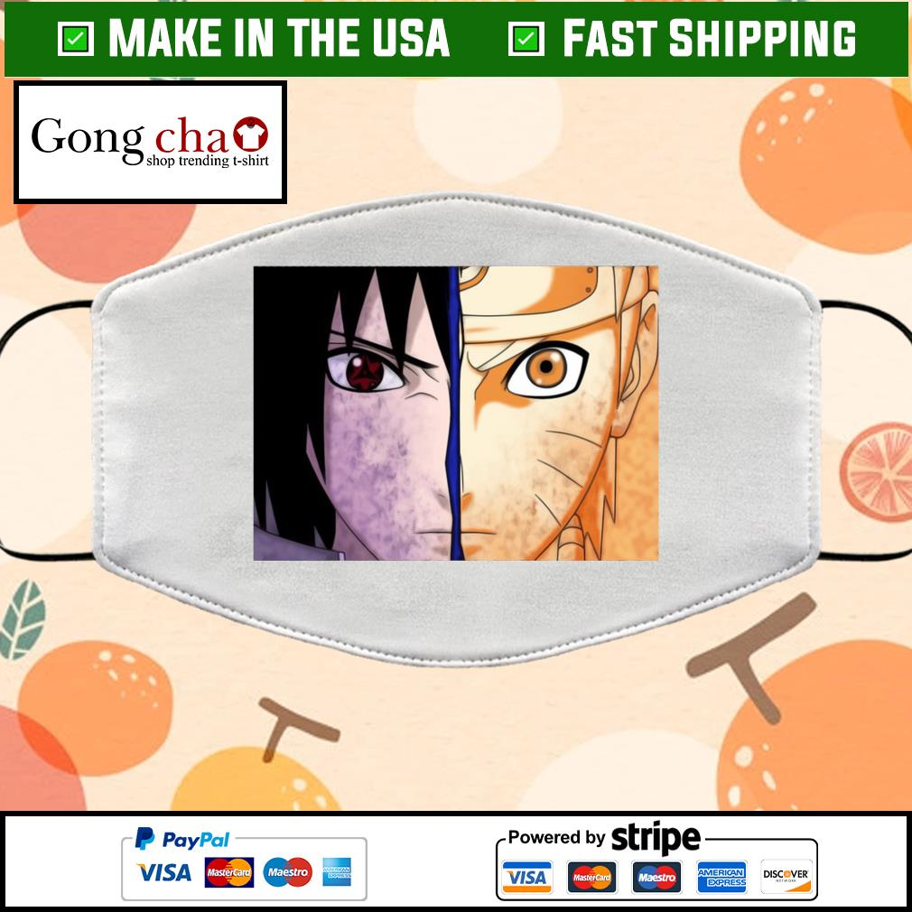 Naruto and sasuke Cloth Face Mask Washable