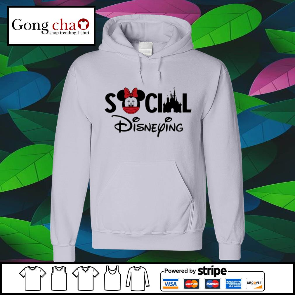 Minnie Mouse face mask social Disneying s hoodie