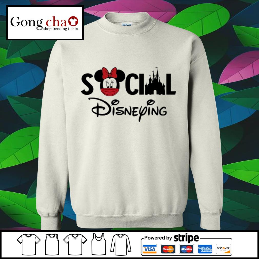 Minnie Mouse face mask social Disneying s sweater
