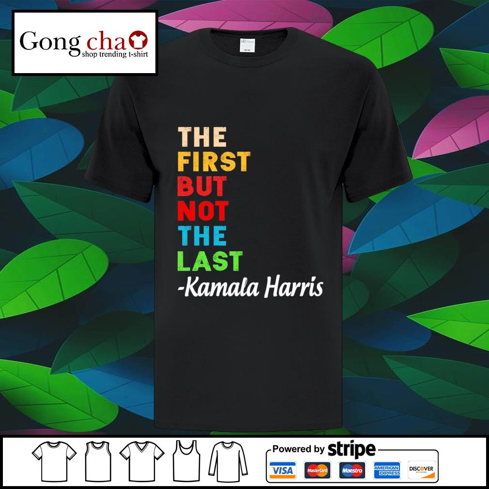 The first but not the last Kamala Harris vintage s youth-tee